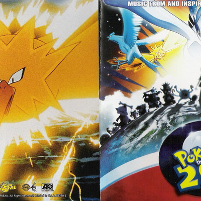 Pokemon The Movie 2000 The Power Of One Music From And Inspired