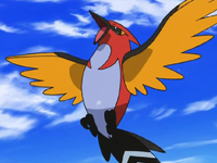 Viewing character pocketmonsters net - Ash fletchinder evolves into talonflame ...