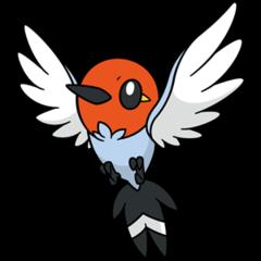 #661: Fletchling / ヤヤコマ - Pocketmonsters.Net Fletchling