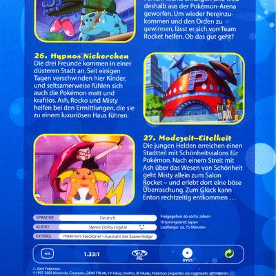 Pokemon Staffel 3 Dvd
