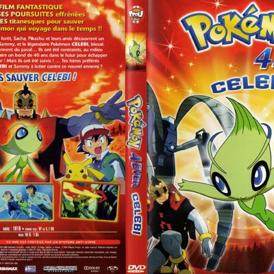 Pokémon 4ever Celebi Pocketmonstersnet