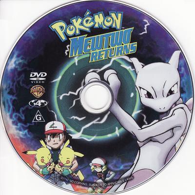 Pokémon: Mewtwo Returns (Australia) - Pocketmonsters.Net Pokemon Mewtwo Returns Dvd