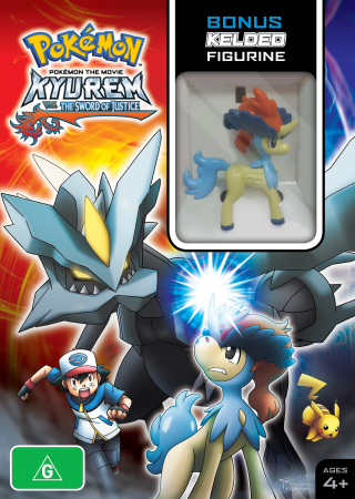 Pokemon The Movie Kyurem Vs The Sword Of Justice Limited