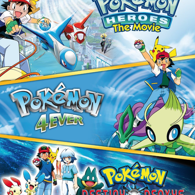 Pokemon Triple Movie Collection Pocketmonsters Net
