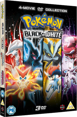 Pokemon Black White 4 Movie Dvd Collection Pocketmonsters Net