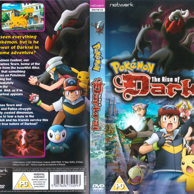 Pokemon The Rise Of Darkrai Pocketmonsters Net