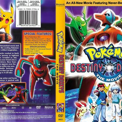pokemon destiny deoxys full movie