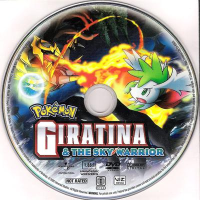 Pokemon Giratina The Sky Warrior Pocketmonsters Net