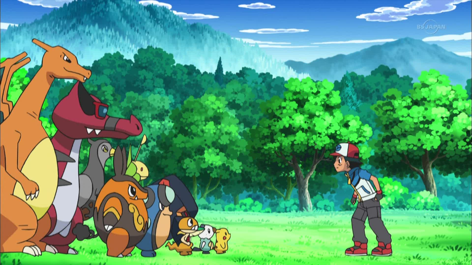 pokemon best wishes satoshi and butterfree until the day we meet again