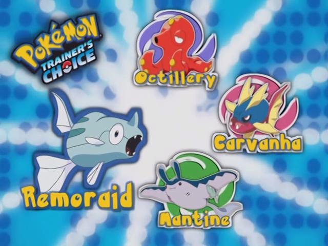 Pokemon Remoraid Evolution Images | Pokemon Images