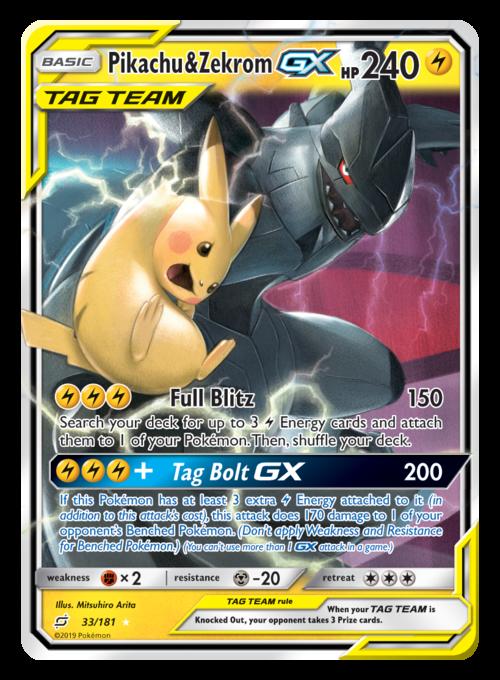 detective pikachu pokemon cards gx
