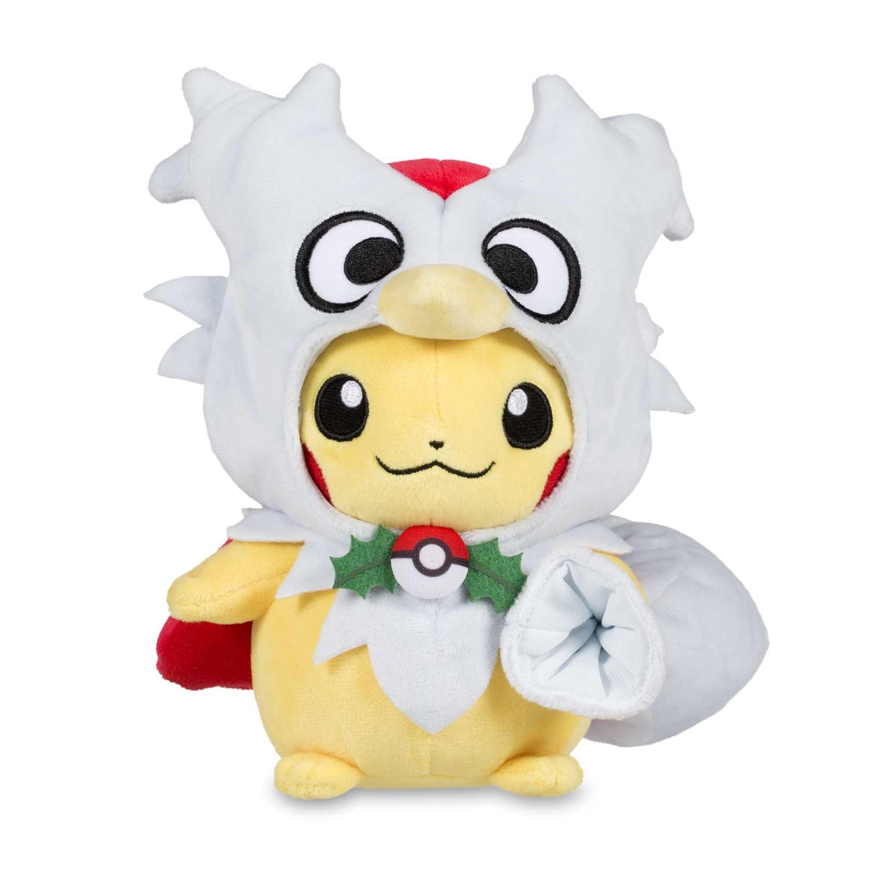 Pikachu delibird cape pok plush standard 8 pocketmonsters net - Image pikachu ...