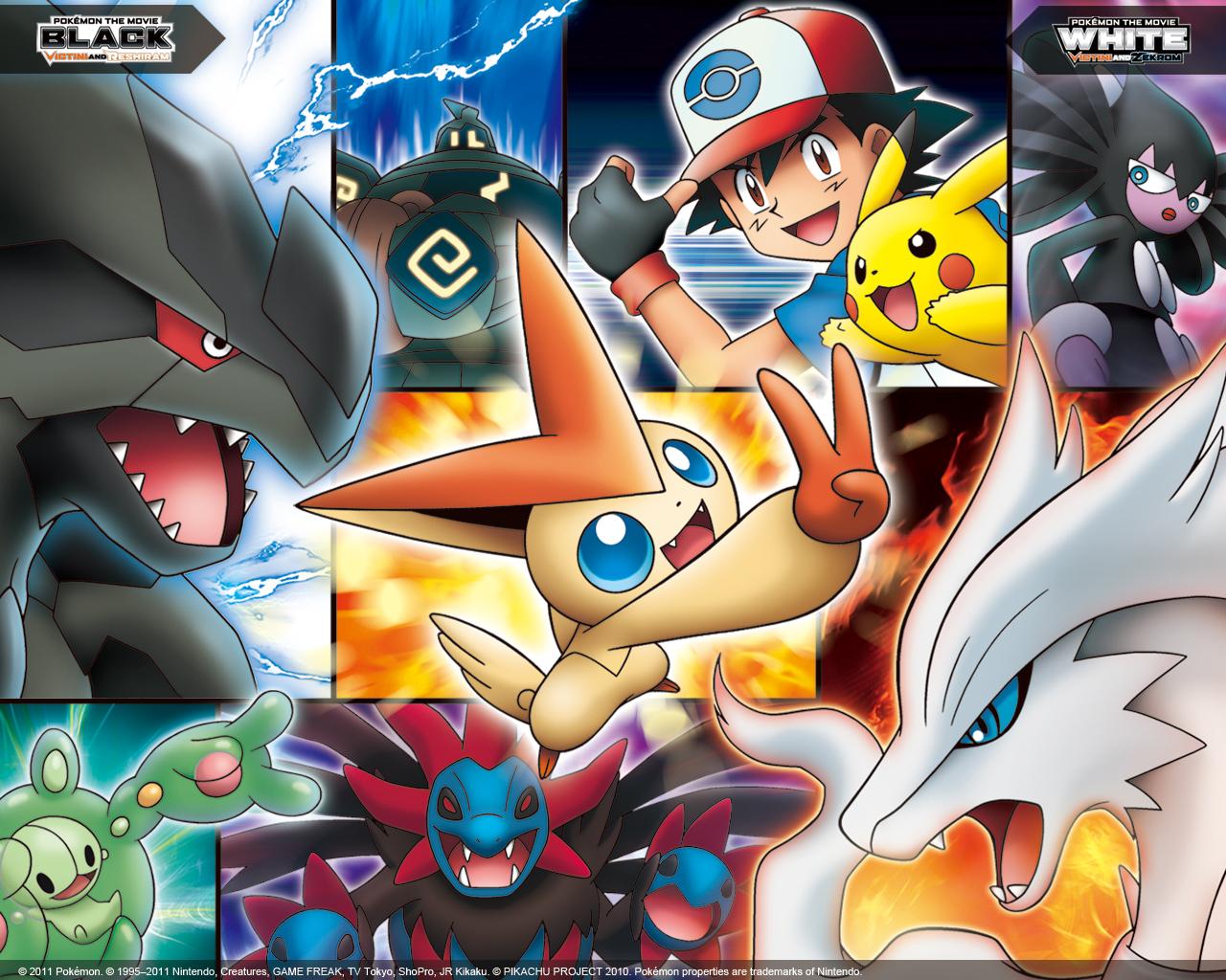 Pokémon the Movie Wallpapers Pocketmonsters Net