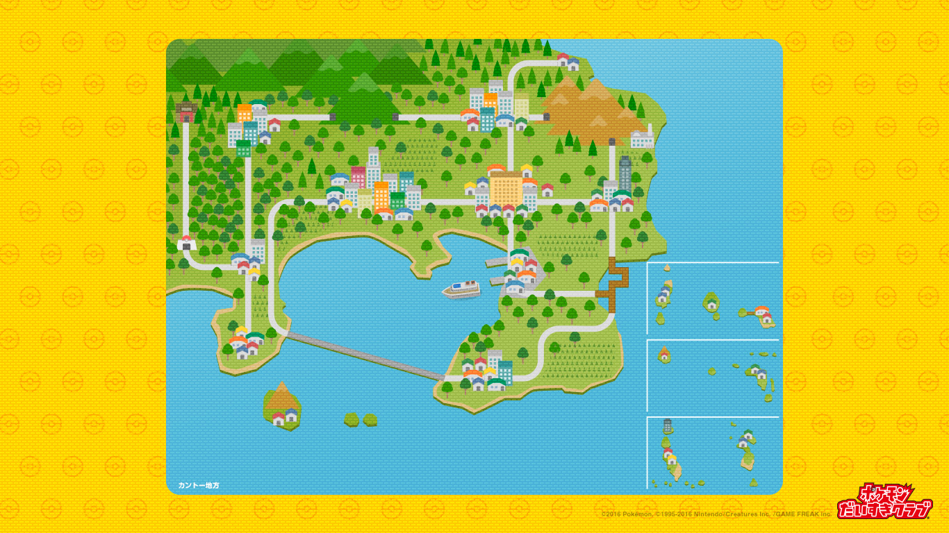 Pokémon World Maps - Pocketmonsters.Net