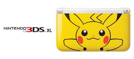 Pikachu edition nintendo 3ds xl pocketmonsters net for 3ds xl pikachu achat