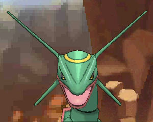 how to catch rayquaza oras