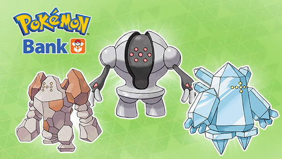 Regirock, Regice et Registeel disponible via Pokémon Bank Pokemon-bank-regi-trio
