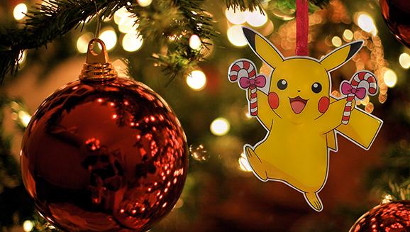 Pokemon Christmas Ornaments.Deck The Halls With Pikachu Toys R Us Pikachu Christmas
