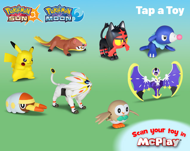 how do you scan your toy on mcplay