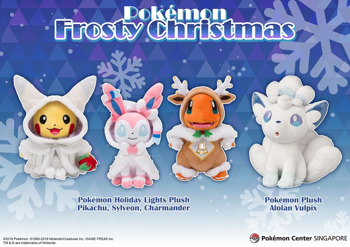 Pokemon Center Christmas 2020 Pokémon Center Singapore   Pokémon Frosty Christmas