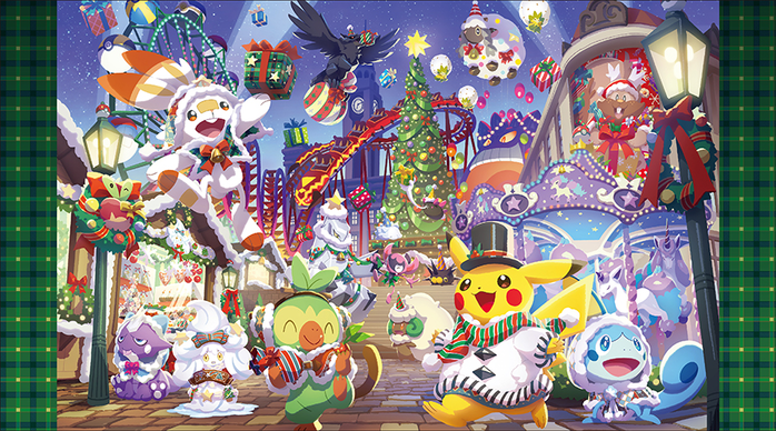 Pokémon Center - Pokémon Christmas Wonderland - Pocketmonsters.Net