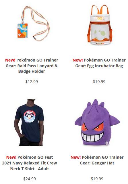 Pokemon Center Pokemon Go Fest 2021 Pokemon Go 5th Anniversary Merchandise Pocketmonsters Net