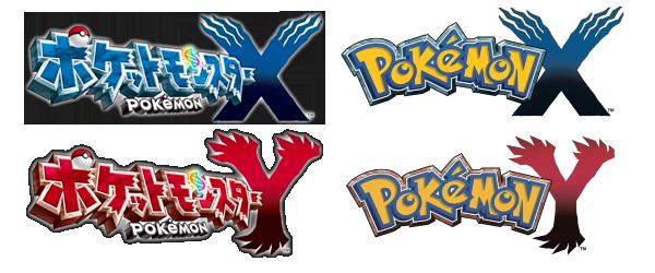 [Oficial] Pokémon X e Y Logo